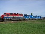 The Whole Train!  RLK 4057 CEFX 2006 and 2015