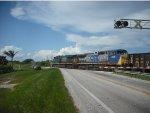 CSX O721 crossing Krome Ave