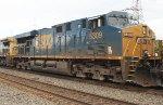 CSX ES40DC #5309 on Q300-06