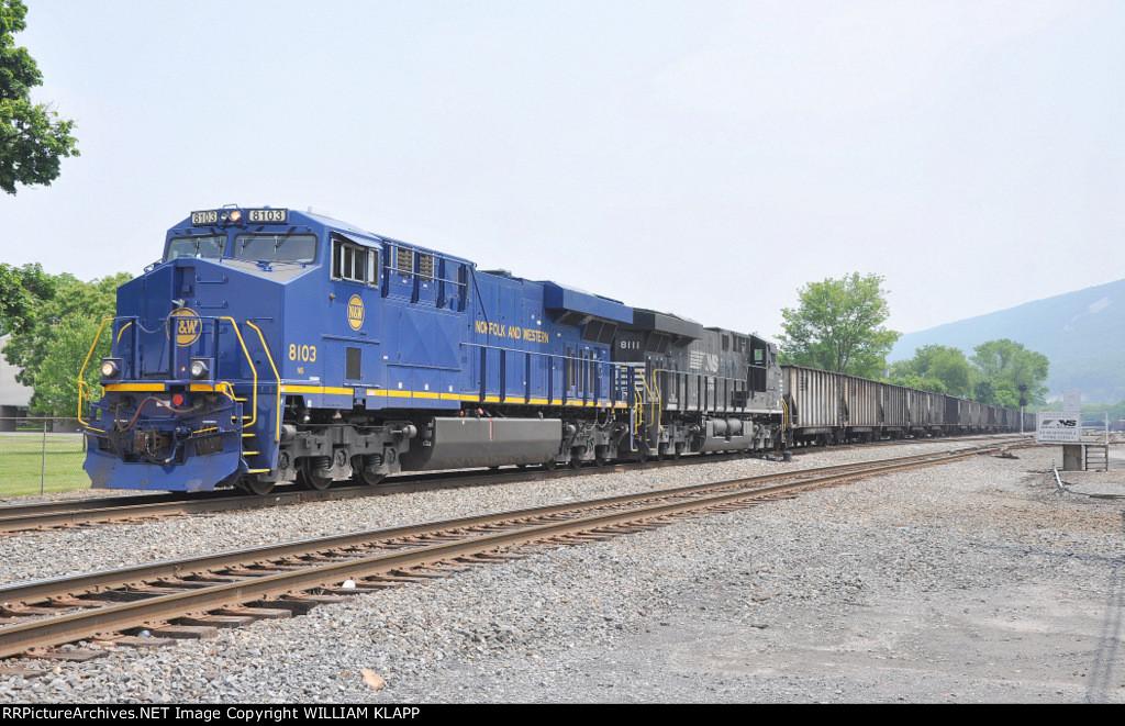 NS 633 , NS 8103 Heritage engine Norfolk & Western