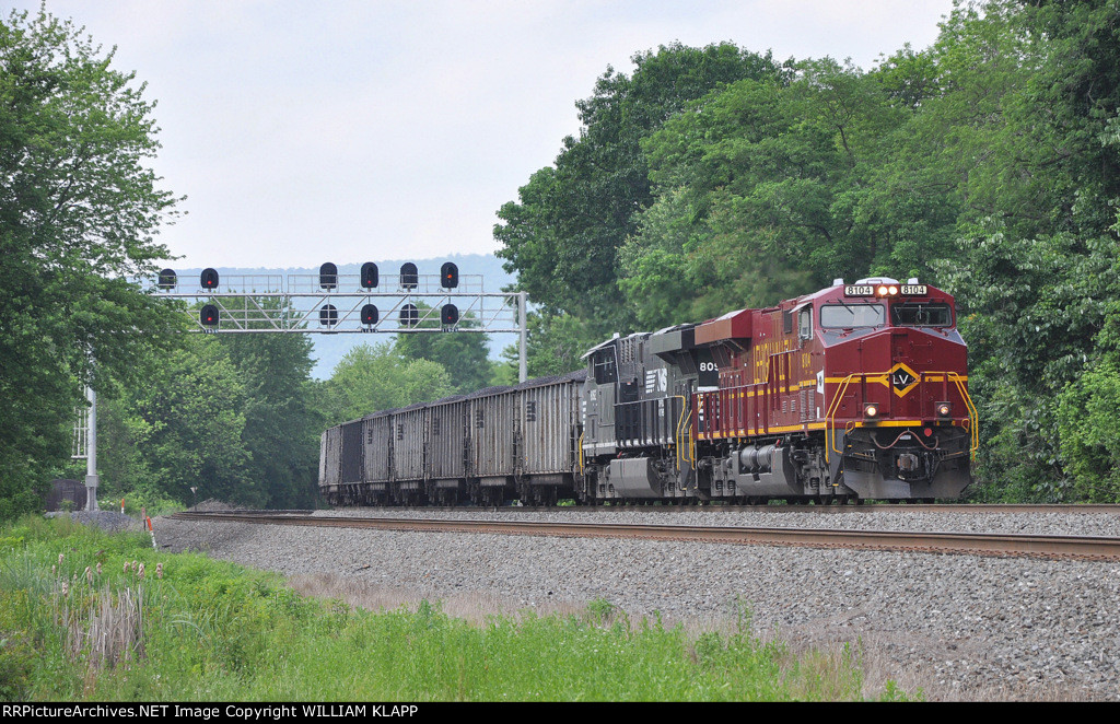 NS 590 NS 8104 Leigh Valley Heritage Engine