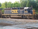 CSX 8400 YN3 (ex-WM)