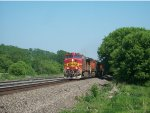 BNSF 768 Leads Q393 West