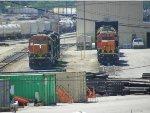 BNSF SD40-2s 1778 & 8015