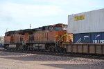 BNSF 7855 & 4043