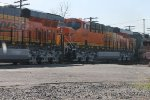 new BNSF 6944 ON CSX  Q393 spring of 2012