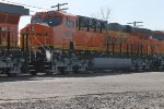 New BNSF C4 6956   ON CSX  Q393 spring of 2012