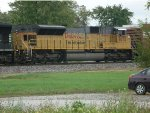UP  SD9043 #8073 on a NS  westbound fall of 2011