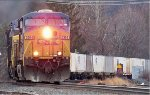 CSX 5364 leads and early moring COFC on the B&A