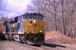 CSX 994 Brand new on the B&A just East of Blue Hill Curve
