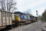 CSX 4776 and 87 on coal run