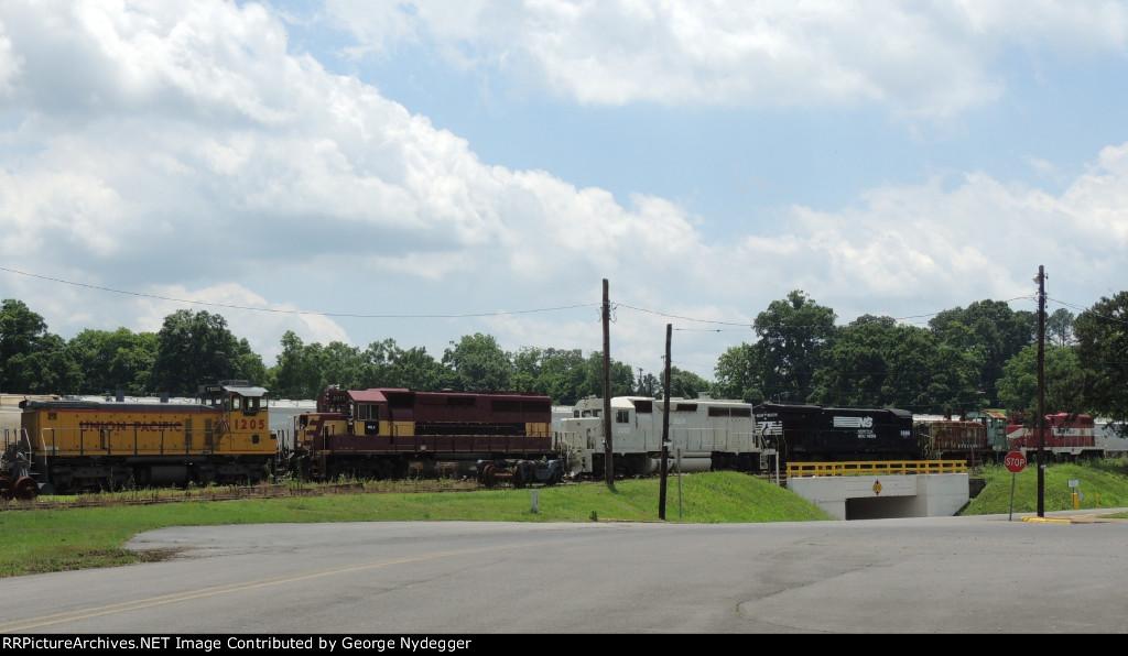 Engine parade @ the Yard
