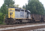 CSX 8324 working as Yard Job