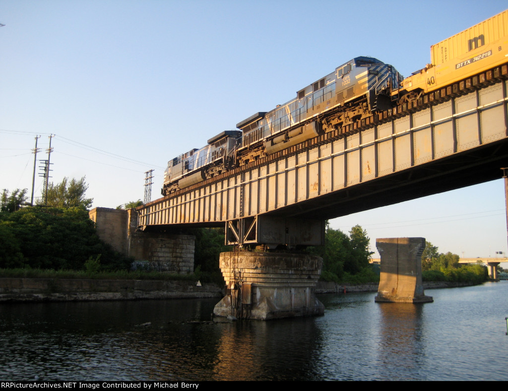 Riding high over the Lachine Canal