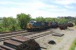 Stack train at CP-RO