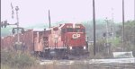 CP 7307 EX Lehigh Valley GP38-2 At Kenwood Yard