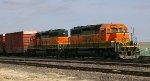 BNSF 1688 & 1663