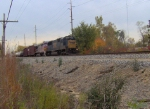 CSX 8653 and ATSF 561 with Fall Colors