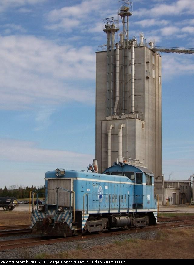 LC 91 working big customer; Circle S Ranch Feedmill,
