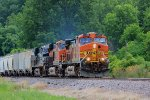 BNSF 4320 leads this freight nb.