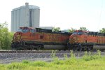 BNSF 4761 and the bnsf 7658 are both on rock trains.