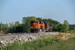 BNSF 6894 leads a NB freight for old monroe mo.