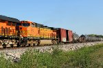BNSF 5012 trails 2nd on this nb.
