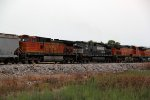 NS 9394 and bnsf 4075 are apart of this freight.