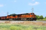 BNSF 6732 heads south on this ore load.