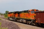 BNSF 5374 trails 2nd out.