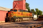BNSF 4946 sits in the lumber track at old monroe.