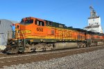 BNSF 658 is ex santa fe on the point.