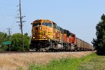 BNSF 9998 leads a slc coal into winfield mo.