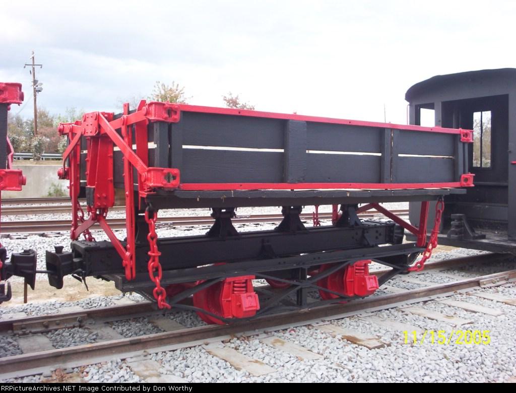 Narrow gauge Side dump ore car was used in Kaolin Mining