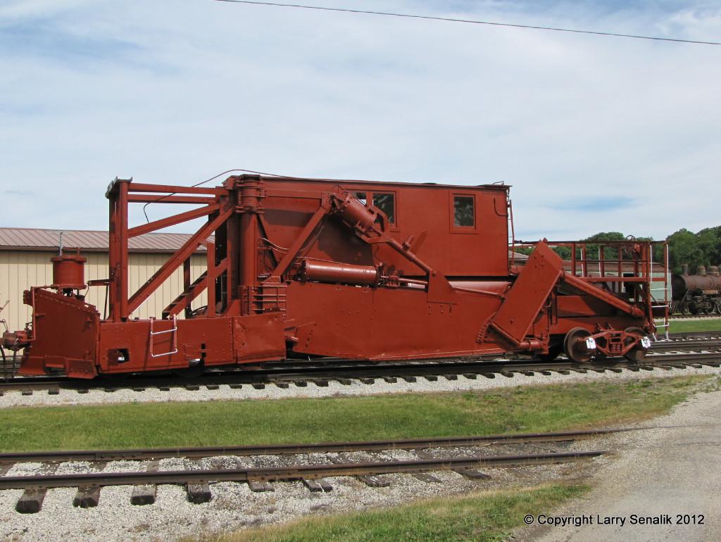 IC x9151 Jordan Spreader at Monticello Railway Museum