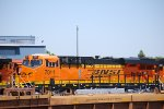 BNSF 7011 with her Crew Cab Door Ajar basks in the Afternoon Sun!!!
