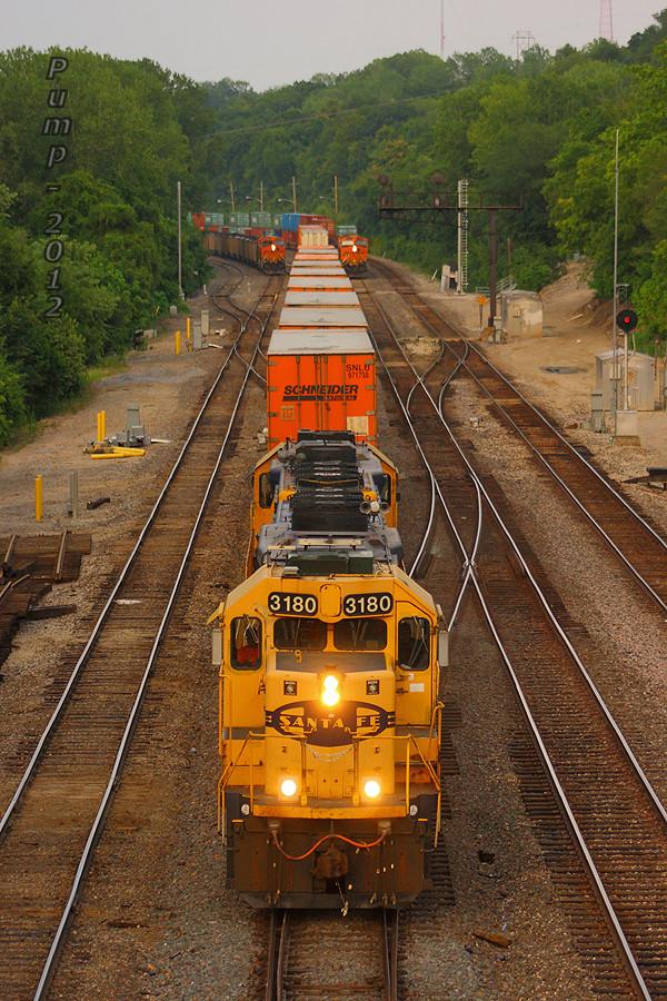 Westbound BNSF Transfer Train