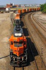 Southbound BNSF Transfer Train