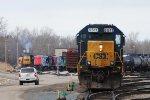 CSX 8511 & HESR's GE's