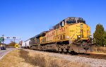 CSX F750-30 with UP 7163