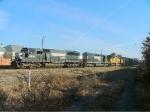 NS Woodchip Train