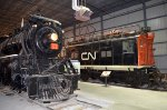 Two Montreal Suburban engines preserved at Exporail