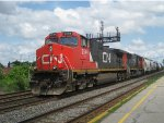 CN 2544 & CN 5628 head west @ Dorval