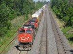 CN 2252, CN 2524 & CN 4809 head west