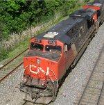 CN 2252 closeup