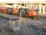 GP9s at Turcot West