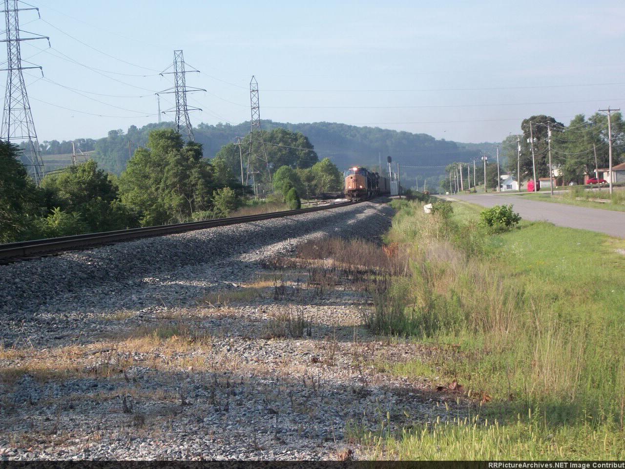 CSX Coal Train in Louisa