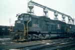 Big guy getting serviced, Collinwood Yards about 2/1974