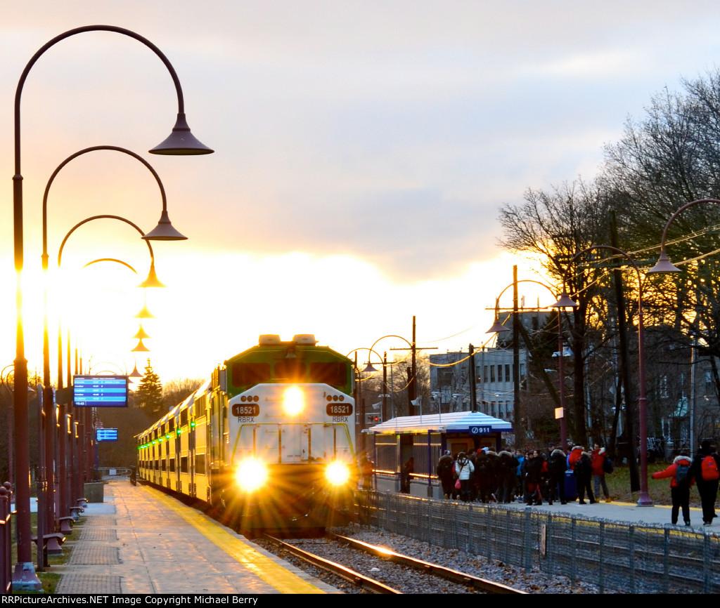 Ex-GO Transit F59PH deadheading