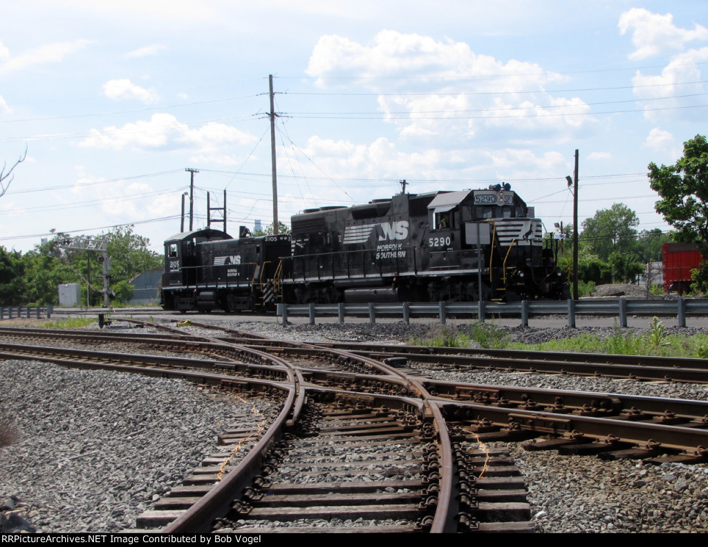 NS 5290 and 2105